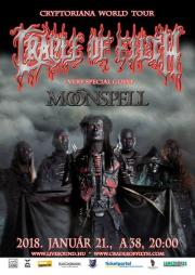 Cryptoriana World Tour Cradle Of Filth + very special guest: Moonspell