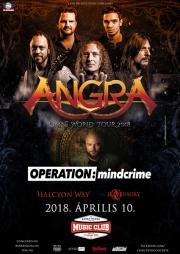 Angra, Geoff Tate´s Operation Mindcrime, Halcyon Way
