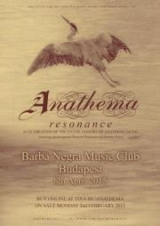 ANATHEMA - Resonance Tour @ Budapest