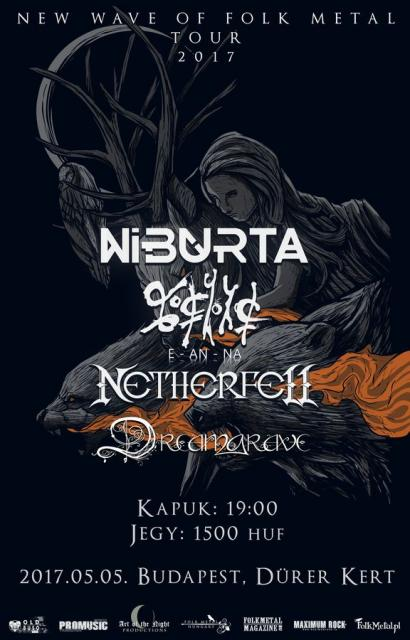 New Wave of Folk Metal Budapest ´17