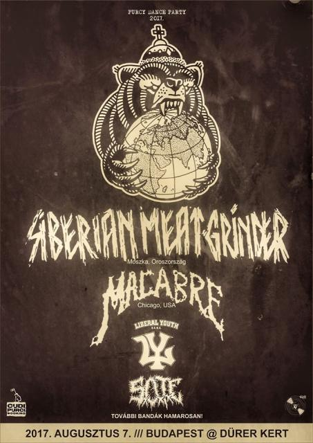 Purcy Dance Party / Siberian Meat Grinder (RUS) & Macabre (USA)