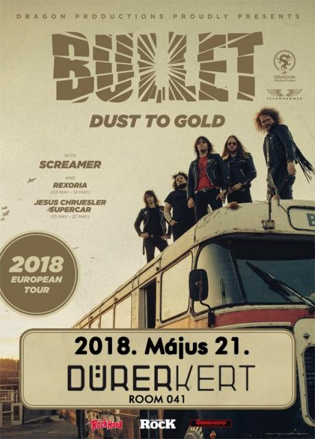 a Concerto Music bemutatja: Dust To Gold Tour 2018