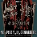 Helheim & Vulture Industries EU tour - Budapest