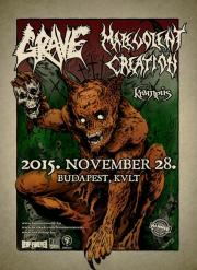 Grave, Malevolent Creation, Kramp�s  (�Death Raid Over Europe� turn� )