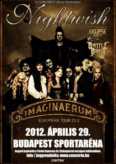 Imaginaerum World Tour 2012