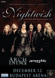 NIGHTWISH - Endless Forms Most Beautiful Tour 2015 - special guests: ARCH ENEMY + AMORPHIS