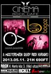 Oson� Posz�t�k, Bogoz - Cinema Rock Cafe (2013.05.11.)