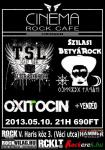 Szilasi Bety�rock, T�rk�v�n S�lt L�ngos - Cinema Rock Cafe (2013.05.10.)