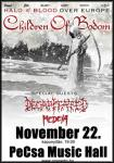 Children of Bodom - Halo of Blood lemezbemutató (2013.11.22)