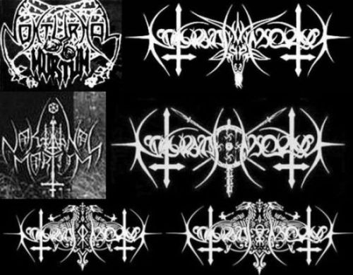 Nokturnal Mortum logo