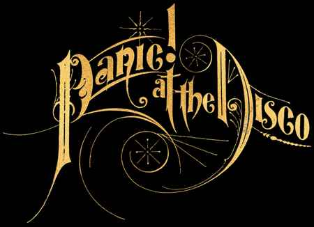 Panic  At The Disco logoPanic At The Disco Logo Wallpaper